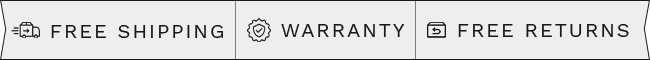 Free shipping - Warranty - Free Returns